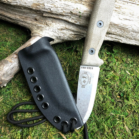 RK Custom kydex sheath for esee rb3 fixed blade knife