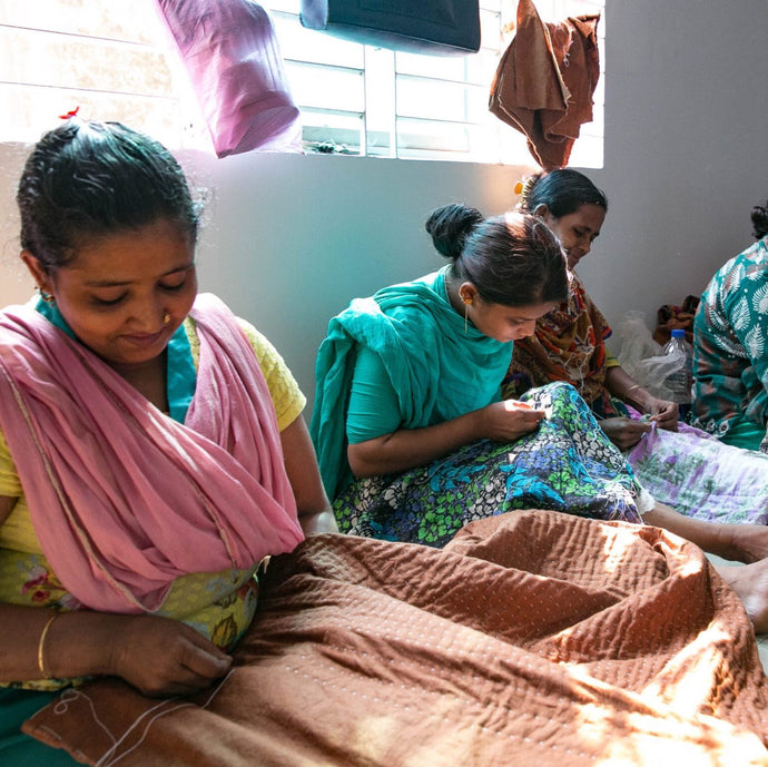 Providing employment to women at risk and survivors of trafficking in Bangladesh