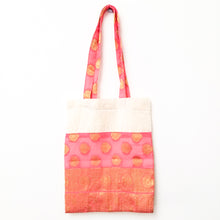 Load image into Gallery viewer, Sari tote bag