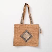 Load image into Gallery viewer, Handwoven jute market bag