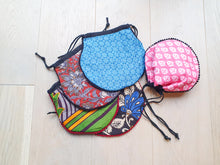 Load image into Gallery viewer, Drawstring sari pouch