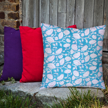 Load image into Gallery viewer, Block-printed cushion covers