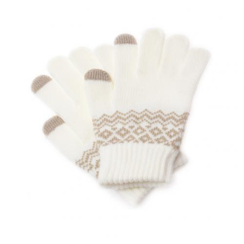 Winter Unisex Soft Knit Touch Screen Texting Smartphone Couple Warm Gloves