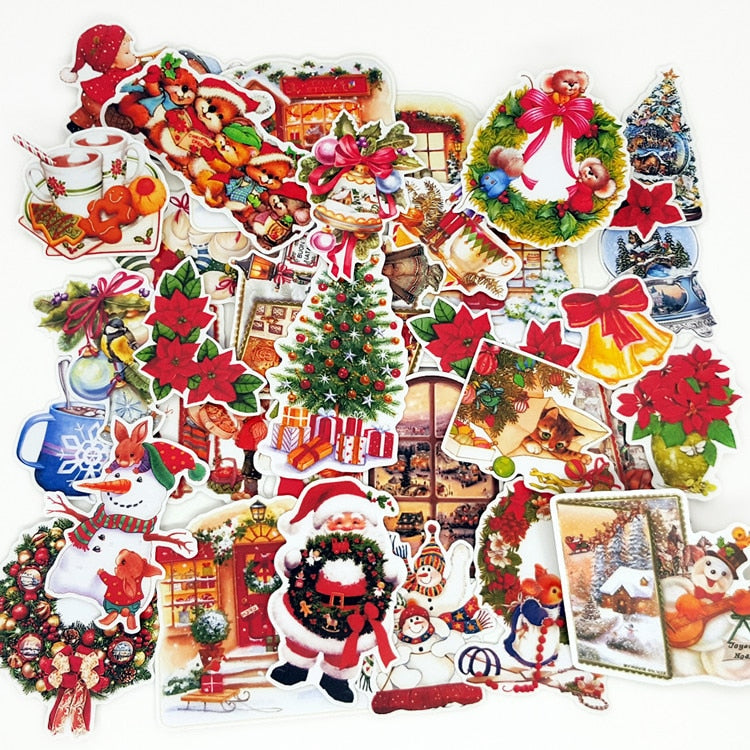 Christmas Stickers: Crafts And Scrapbooking Stickers - Pack of 33 - Alpha Sticker
