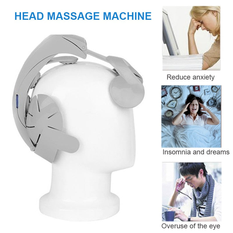Brain Head Massager - Alpha Sticker