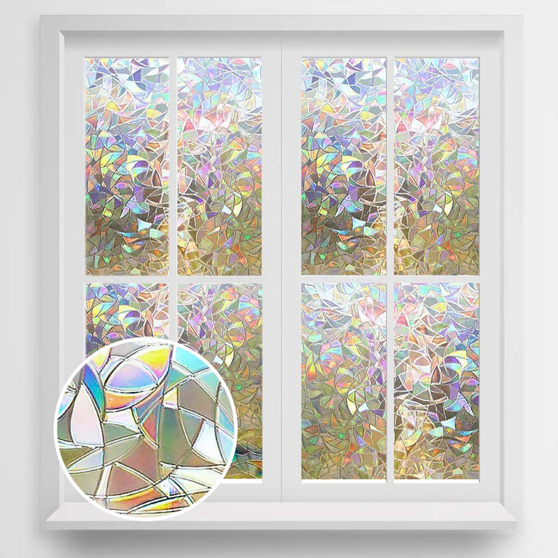 3D Removable Windows Strickers - Alpha Sticker