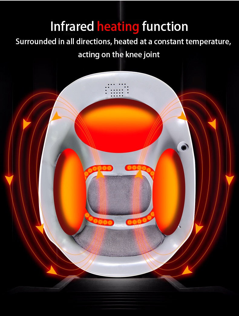 Laser heated air massage knee physiotherapy - Alpha Sticker