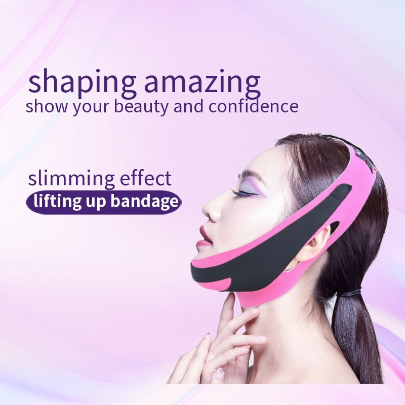 V Face Shaping Slimming Lift Up Bandage - Alpha Sticker