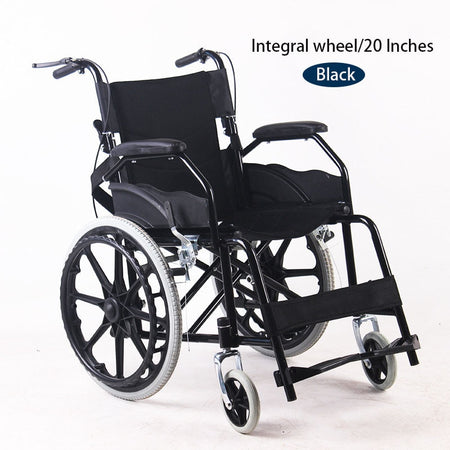 Portable Travel Wheelchair - Alpha Sticker