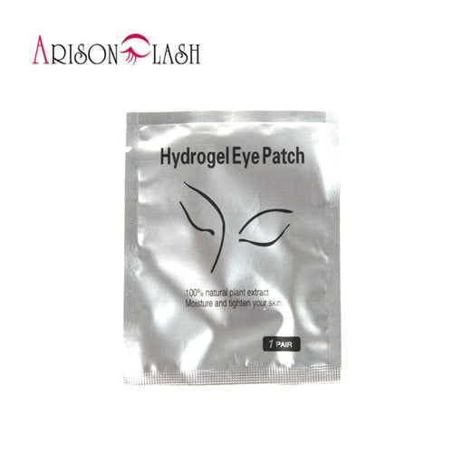 Eye Pads Paper Patches Pink Lint free Stickers for False Eyelashes - Alpha Sticker