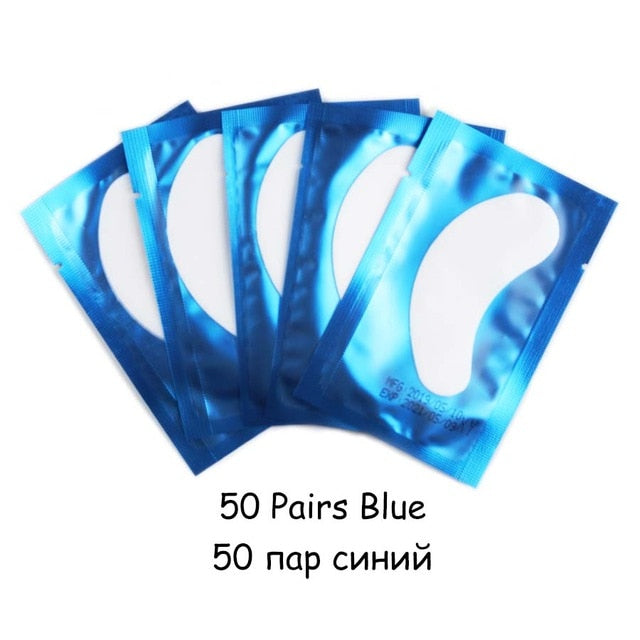 Eye Stickers Eyelash Under Eye Pads Lint Free Hydrating Eye Paper Patches - Alpha Sticker