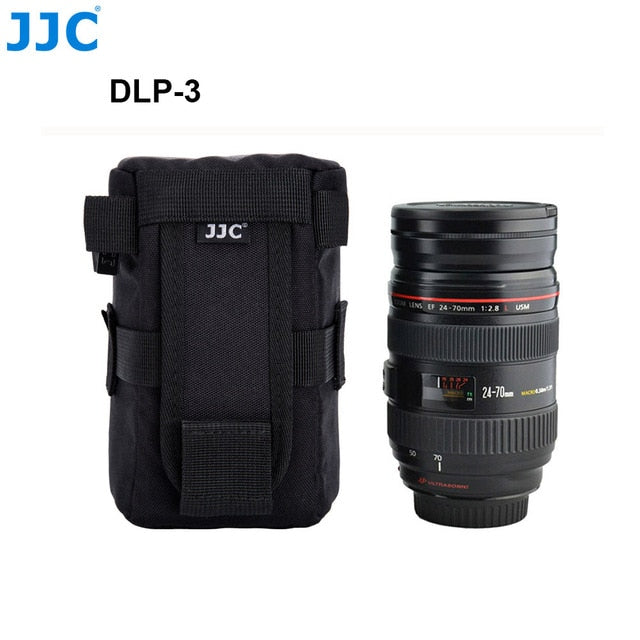 Waterproof Deluxe Camera Lens Bag - Alpha Sticker