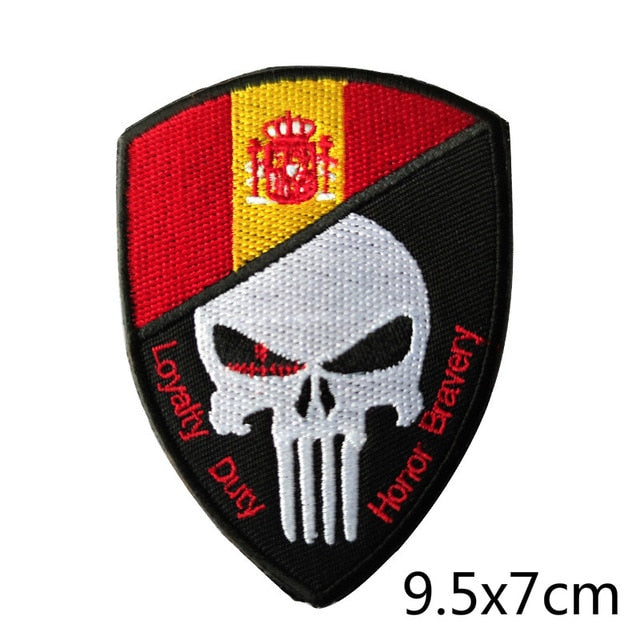 Military Tactical Cool Patches - Alpha Sticker