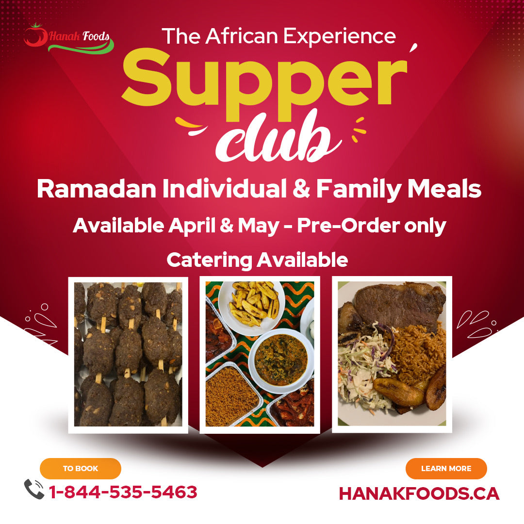An Iftar meal experience