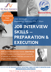 Exclusive webinar will give Macra members the edge in job interviews