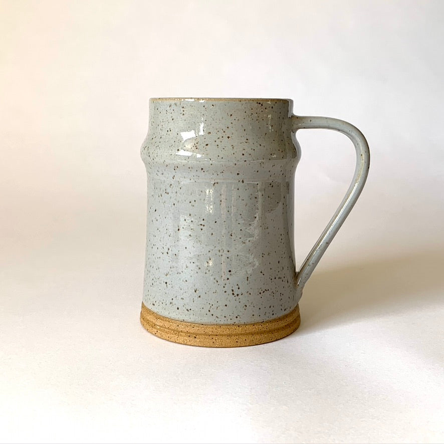 Stein, speckled French grey, 12 oz