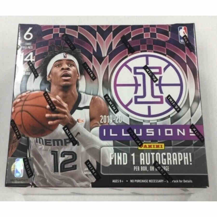 19/20 Hobby Box Panini Illusions Basketball