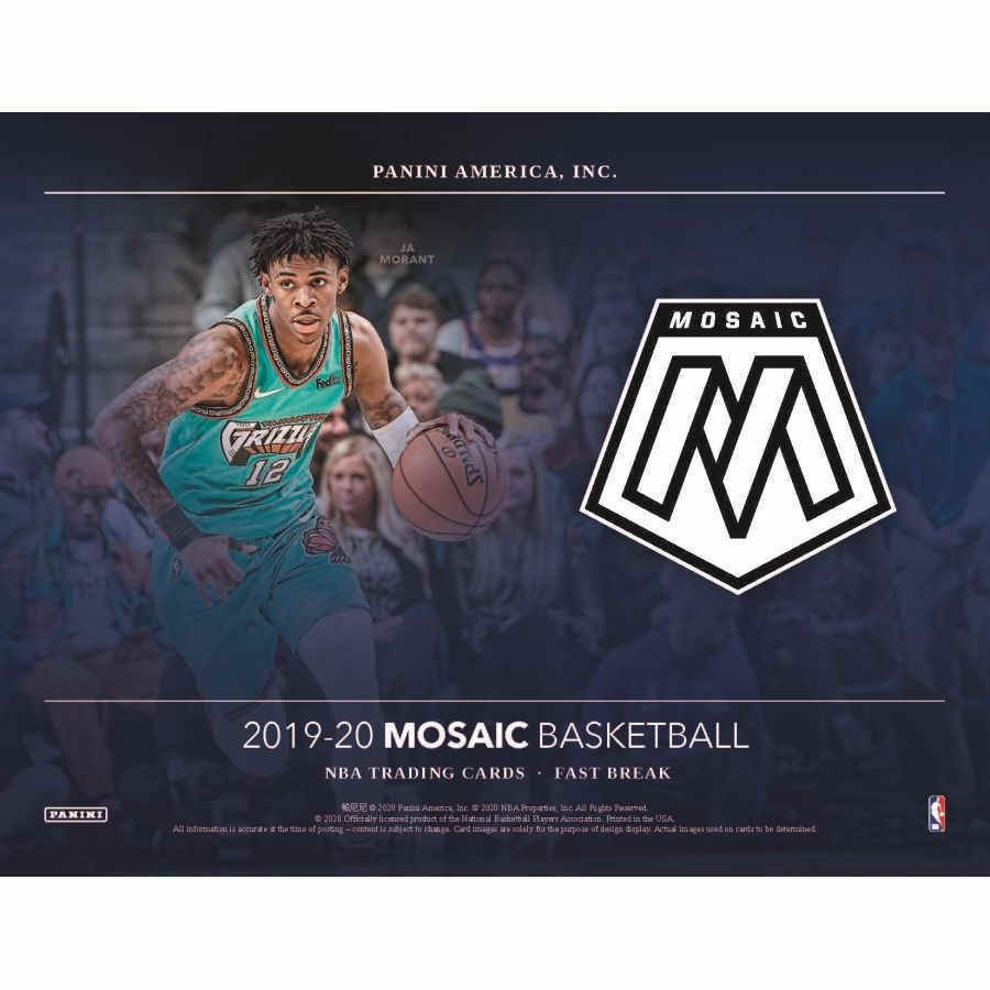 19/20 Hobby Box Panini Mosaic Fast Break Basketball