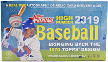 Load image into Gallery viewer, 2019 Hobby Box Topps Heritage High