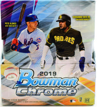 Load image into Gallery viewer, 2019 Hobby Box Bowman Chrome