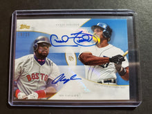 Load image into Gallery viewer, 2020 Topps Dynamic Duals Mo Vaughn & Cecil Fielder Autograph