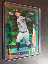 Load image into Gallery viewer, 2020 Topps Chrome Alex Bregman Green Wave Refractor /99