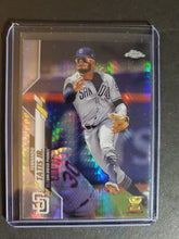 Load image into Gallery viewer, 2020 Topps Chrome Fernando Tatis Jr. Prism Refractor