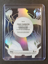 Load image into Gallery viewer, 2019 Topps High Tek Trent Thornton Autographed Rookie /99