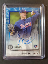 Load image into Gallery viewer, 2019 Topps Tribute Kolby Allard Autographed Rookie /150