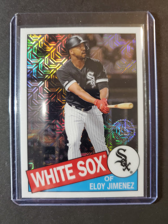 2020 Topps Series 2 Eloy Jimenez Silver Pack 1985 Chrome