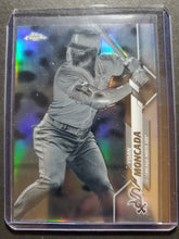 Load image into Gallery viewer, 2020 Topps Chrome Yoan Moncada Negative Refractor Parallel