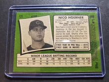 Load image into Gallery viewer, 2020 Topps Heritage Nico Hoerner Rookie SP Action