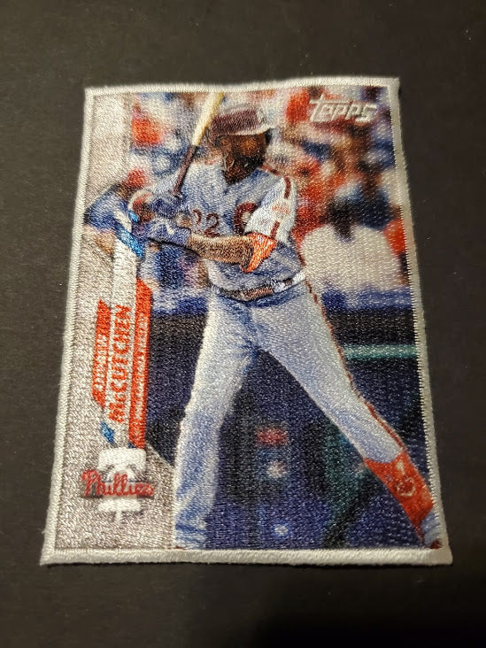 2020 Topps Update Andrew McCutchen Box Topper Cloth Patch