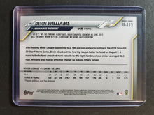 Load image into Gallery viewer, 2020 Topps Update Devin Williams Rookie Card