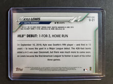 Load image into Gallery viewer, 2020 Topps Update Kyle Lewis Rookie Card Debut