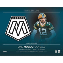 Load image into Gallery viewer, 2020 Hobby Box Panini Mosaic No Huddle Football