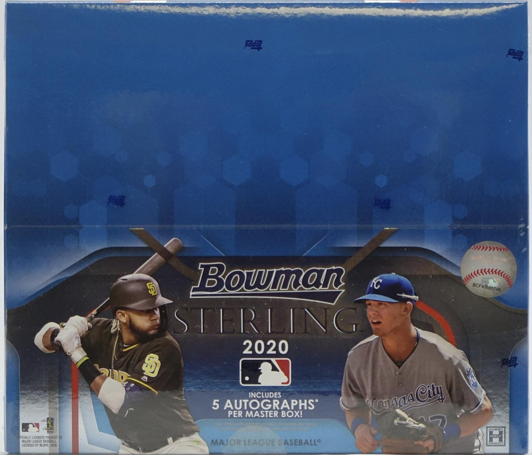 2020 Hobby Box Bowman Sterling