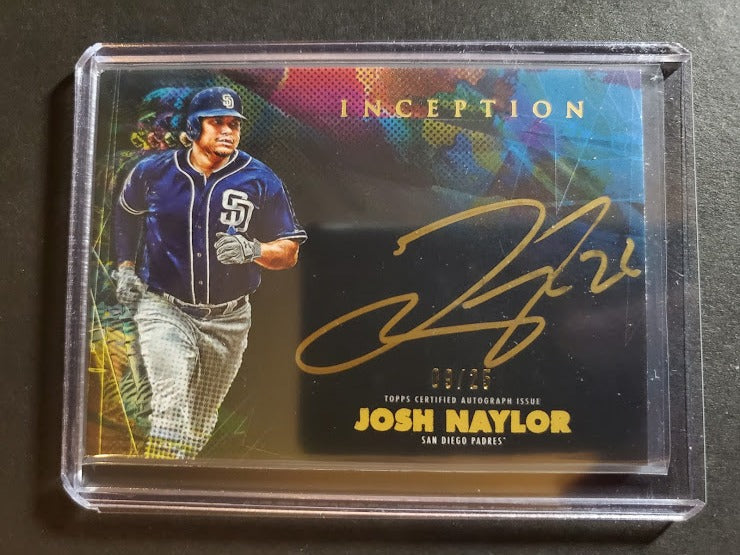 2020 Topps Inception Josh Naylor Autograph SP Silver Signature /25