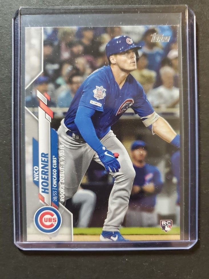 2020 Topps Update Nico Hoerner Rookie Card Debut