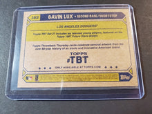 Load image into Gallery viewer, 2020 Topps Now TBT SP Gavin Lux Rookie