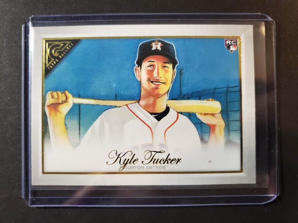 2019 Topps Gallery Kyle Tucker Rookie Card