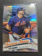 Load image into Gallery viewer, 2020 Topps Chrome Pete Alonso Future Stars Refractor FS-1
