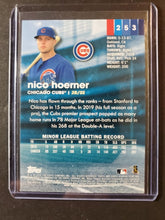 Load image into Gallery viewer, 2020 Topps Stadium Club Nico Hoerner Rookie Red Parallel
