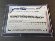 Load image into Gallery viewer, 2020 Topps Chrome Brusdar Graterol Prism Refractor