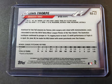 Load image into Gallery viewer, 2020 Topps Chrome Lewis Thorpe Autographed Rookie