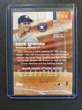 Load image into Gallery viewer, 2020 Topps Stadium Club Zack Grienke Foil SP /25