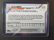 Load image into Gallery viewer, 2020 Topps Chrome Bryan Abreu Autograph Refractor /499