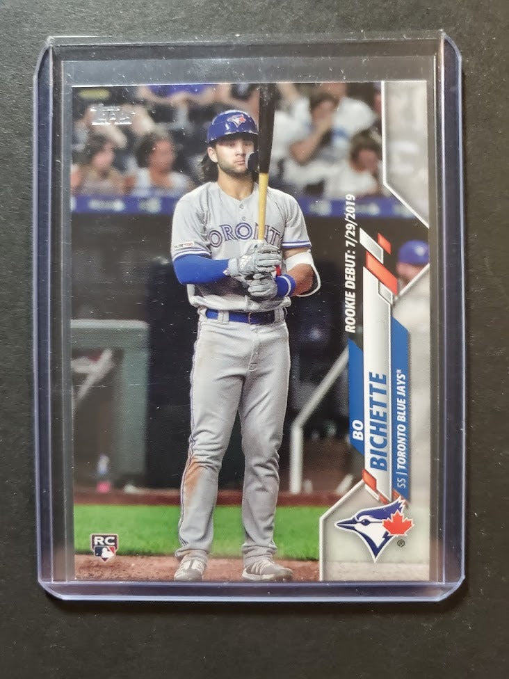 2020 Topps Update Bo Bichette Rookie Card Debut