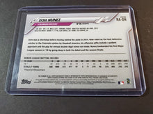 Load image into Gallery viewer, 2020 Topps Chrome Dom Nunez Autographed Rookie