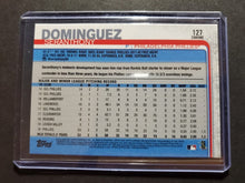 Load image into Gallery viewer, 2019 Topps Chrome Sapphire Seranthony Dominguez